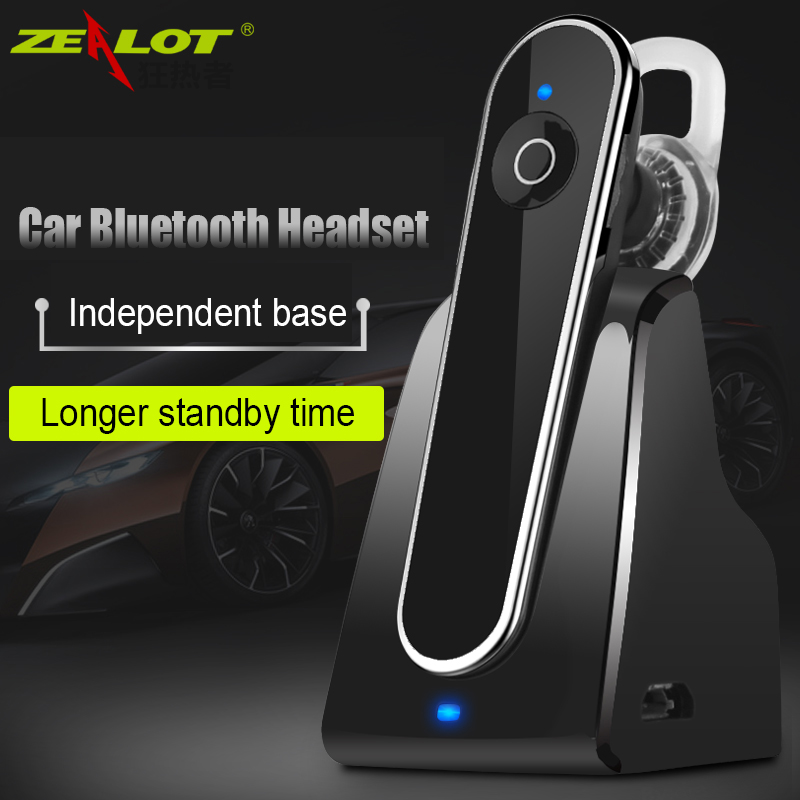 Original Wireless Bluetooth Headset Carkit Handsfree Earphone with Microphone MP3 Music Play Auto Hands Free Car Kit with Dock car wireless bluetooth 4 1 earphone headset hands free car kit charger audio music receiver with 5v 3 1a dual usb charging dock