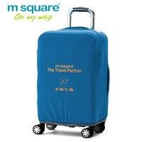 M Kare Seyahat Aksesuarları Bagaj Kapağı Koruyucusu Elastik Arabası Bavul Kapak Koruyucu Kapakları Bavul Vaka 20 24 28 Inç
