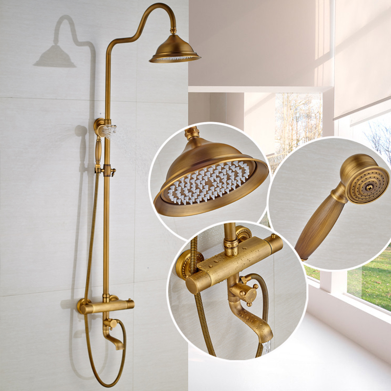 Buy Brass Thermostatic Mixing Valve Shower Faucet: Aliexpress.com : Buy Wholesale And Retail Bathroom Shower