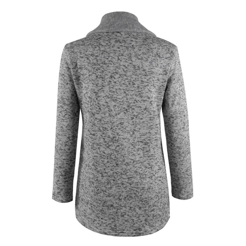 Plus Size 5XL Women Autumn Winter Clothes Warm Fleece Jacket Slant Zipper Collared Coat Lady Clothing Female Jacket 1