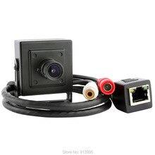 1.0 мегапиксельная  HD 720p/ H.264 /onvif p2p видеокамера с аудио /подключи и играй  мини сетевая  камера ip с микрофоном  , камера видеонаблюдения поддержка обнаружения движения