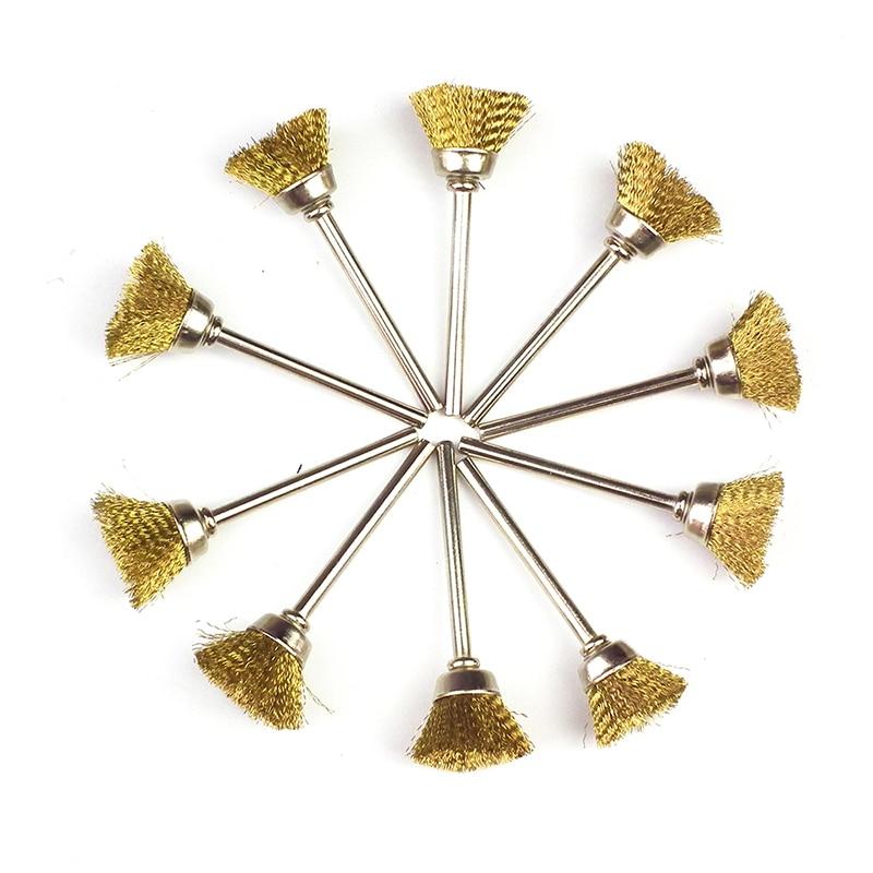 10 buc Bucla sârmă Dremel accesorii instrument rotativ pentru mini - Instrumente abrazive - Fotografie 4