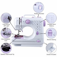 Fanghua sewing machine 505a home multi function electric eating thick sewing machine US European standard