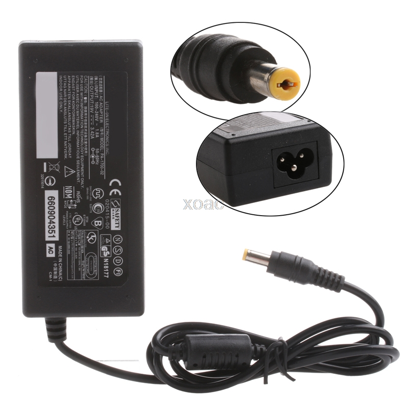 5.5*1.7mm Laptop AC Adapter Power Supply Charger for Acer 19V 3.42A 65W M05 dropship