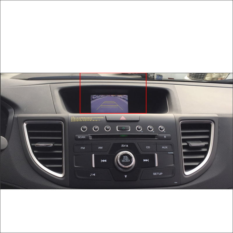 Liislee For Honda CRV C-RV (FB) 2012 ~ 2016 Car Back Up Reverse - Ավտոմեքենաների էլեկտրոնիկա - Լուսանկար 4