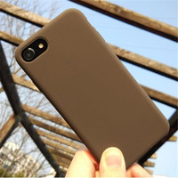 Luxury Original Silicone Phone Case For iphone 7 8 Plus For Apple Cover For iPhone 6 6S Plus X XS MAX XR 7 8 No Logo Cases Capa