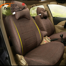 AutoDecorun Custom Automobile Seat Cover for Nissan X-TRAIL 2014 2015-2017 Seat Covers for Cars Seats Cushion Sets Accessories