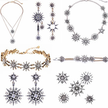 JOOLIM Jewelry Wholesale/2017 Beautiful Stone Bar Tassel Necklace Bracelet Set Daily