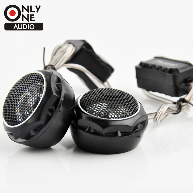 Best Price ONLY ONE AUDIO 4 Ohm impedance car loud speaker MAX POWER 240W  dome tweeter Car Stereo speaker Flush Surface Mount 49mm Diamete
