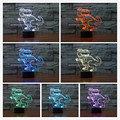 New Curious Little Dinosaur 3D Nightlights LED Table Lamp for Bedroom Decoration Children's Day toys for christmas new year gift