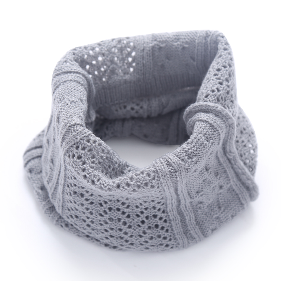 Bright 2018 Autumn Winter Warm Scarf For Women Men Children Baby Scarf Knitted Wool Collar Scarves Boys Girls Neck Scarf Cotton Unisex Women's Scarves