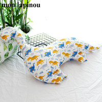 Mon Lapinou Cute Cartoon Dinosaur Cotton Pillow Stuffed Soft Dinosaur Shape Throw Pillow Baby Kids Cushion Toys For Children