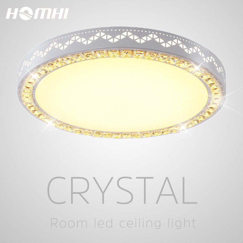 Crystal lamp decorative lighting fixtures ceiling lamp crystal luster home led acrylic light ceiling lights for living room Ceiling Lights     - title=