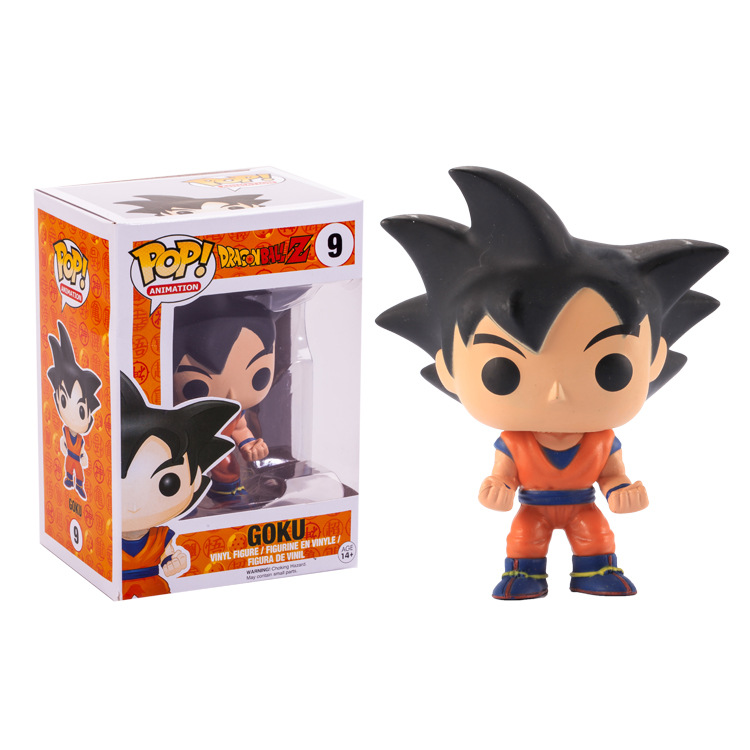 Funko pop Official Amine Dragon Ball Vinyl Action Figure Collectible Model Toy 9