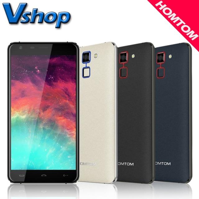 Original Homtom HT30 3G Mobile Phones Android 6.0 8GB ROM 1GB RAM Quad Core 720P 13.0MP Camera Dual SIM 5.5 inch Cell Phone