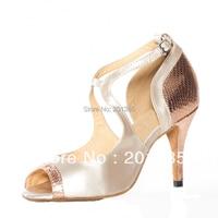 Wholesale Ladies Wedding Bridal Party Dancing Shoes Salsa Ballroom Latin Cha Cha Shoes Size 5 5