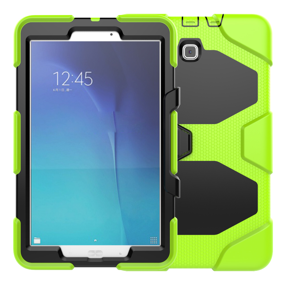 Shock Proof Flat Case For Samsung Galaxy Tab E 9.6 T561 Silicone Rugged Cover For Galaxy Tab E 9.6inch SM-T560/T561 Tablet планшет samsung galaxy tab e 9 6 8gb 3g white sm t561