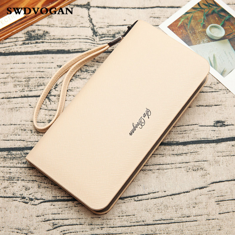 Male Wallet For Men Purse Cell Phone Pocket Xiaomi Redmi Note 4X Fashion Men Wallets Clutch
