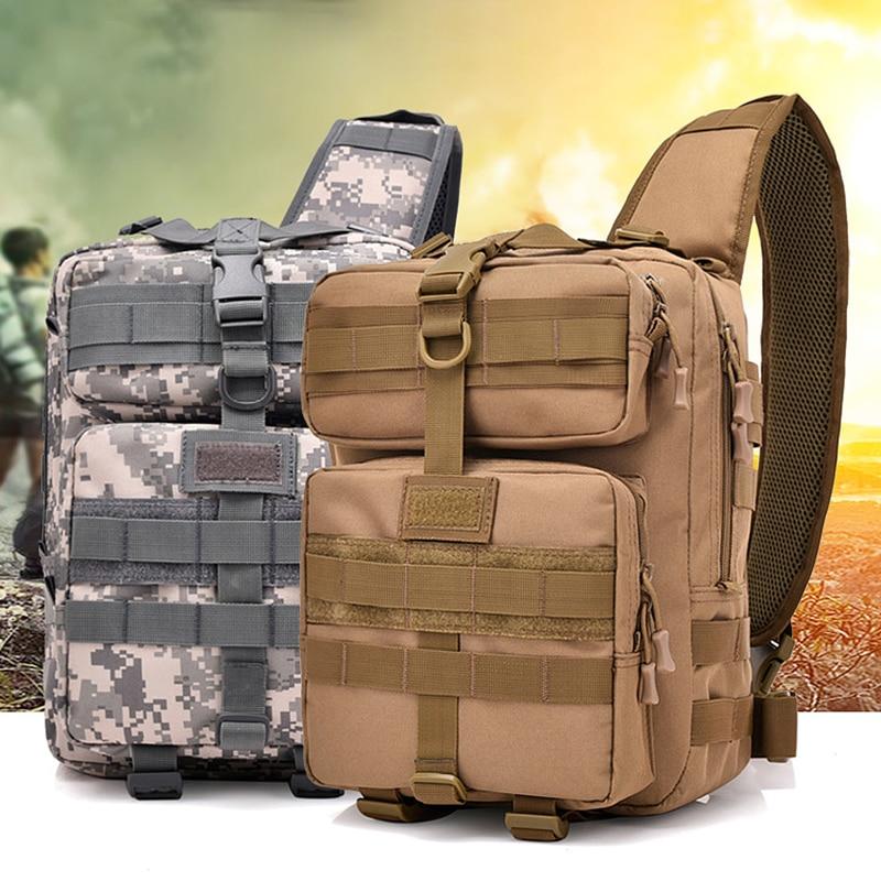 Sac tactique extérieur Oxford militaire sac à dos à bandoulière Camping randonnée sacs d'assaut Camouflage chasse sac à dos utilitaire ci-dessous 20L