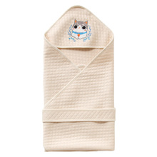 Baby Swaddle 92cm Blanket Thick Warm Infant Cotton Cattle Envelope for Newborns Muslin Bedding Wrap
