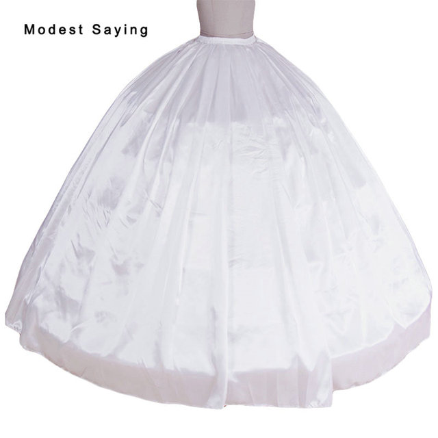 High Quality 6 Hoops Petticoat Underskirt For Super Big Ball Gown Wedding Dresses 2018 Bridal Gowns Accessory Crinoline In Stock