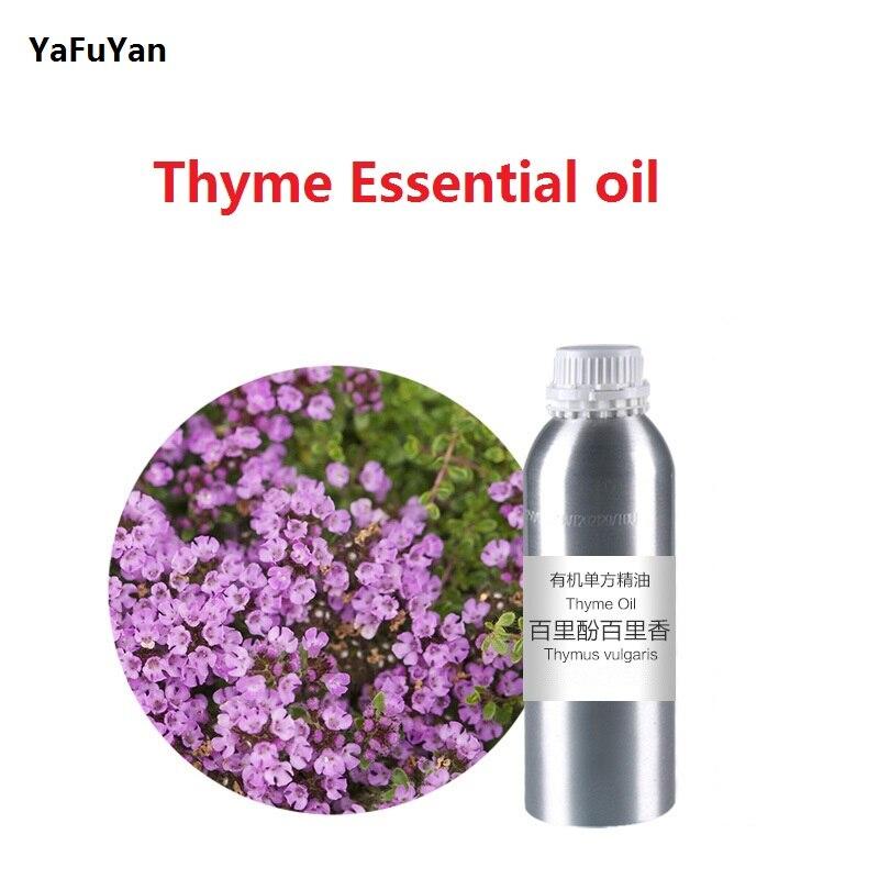 Cosmétiques 50 g/ml/bouteille thym huile essentielle huile de base, organique pressée à froid d'huile végétale huile végétale livraison gratuite soins de la peau