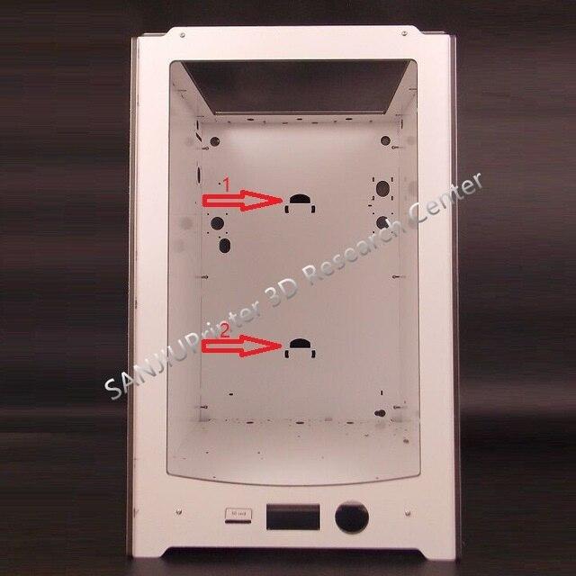Sanjiuprinter двойной подвесной отверстия Рамки Совместимость с Ultimaker 2 + расширенный 6 мм Толщина Алюминий пластины все Бесплатная доставка!!