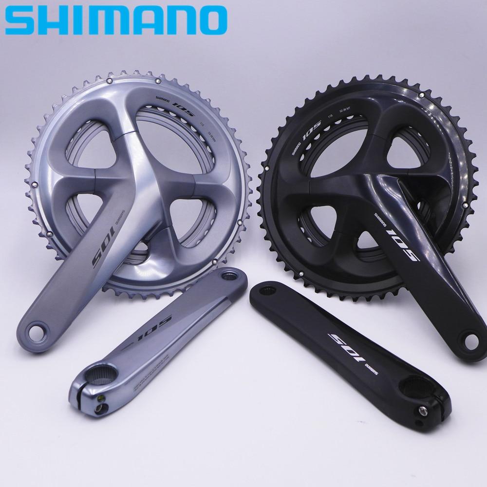 SHIMANO 105 R7000 Road Bike Bicycle HOLLOWTECH II Crankset Chain Wheel 170/172.5mm 50-34T 53-39T 52-36T FC-R7000 цена