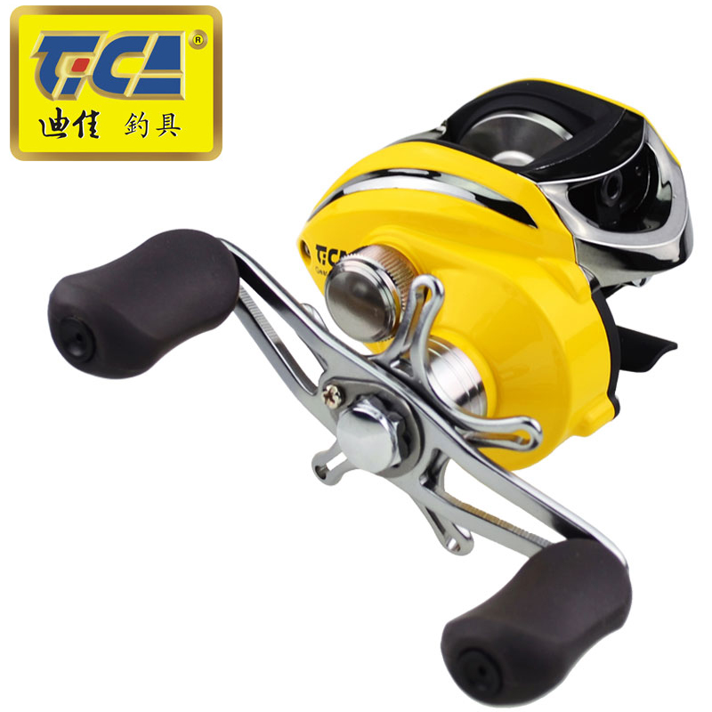 TICA Fishing reel carp fishing Baitcasting Reel Gear Ratio 6 3 1 Bait Casting Right Left