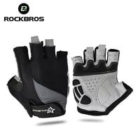 RockBros Sports MTB Road Bike Bicycle Breathable Anti Shock GEL Gloves Cycling Riding Anti Slip Anti