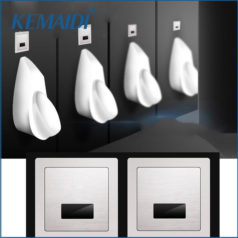 KEMAIDI Capteur Urinoir Salle De Bains Accessoires Toilettes Automatique Flush Valve Wall Mount Capteur Urinoir Bonne Tactile Robinet PJ002 Urinoir