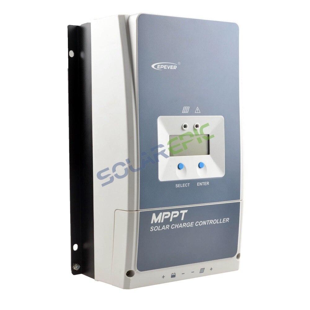50A Epever MPPT de Charge Solaire Contrôleur 50A 12 v/24 v/36 v/48VDC Auto Tracer UN batterie Régulateur Max PV Tension D'entrée 150 v ou 200 v