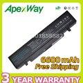 Apexway 6600 мАч батареи ноутбука AA-PB9NC5B AA-PB9NC6B AA-PB9NS6B для Samsung RC530 NP-R478 R463 R468 Q320 NP-R428 NP-R468 X360