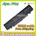 Apexway 6600mAh laptop battery AA-PB9NC5B AA-PB9NC6B AA-PB9NS6B for Samsung RC530 R463 NP-R478 R468 Q320 NP-R428 NP-R468 X360