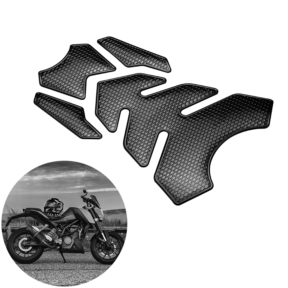Waterproof Motorcycle Oil Gas Fuel Tank Pad Protector Sticker Decal For Honda M