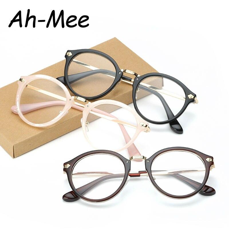 Mujeres Vintage Marco de Anteojos Diseñador de la Marca Gafas Gafas Ópticas Simples Marcos de Anteojos de Ordenador Hombres Marco de Prescripción