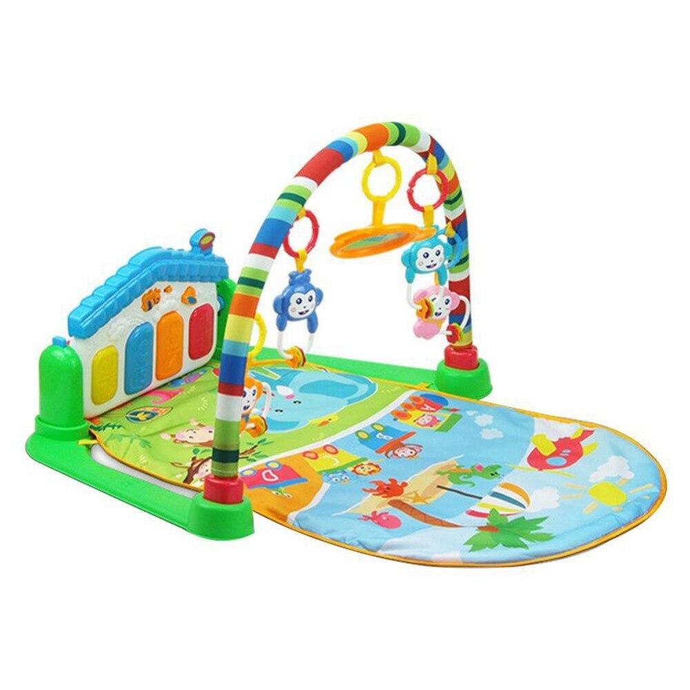 3 en 1 bébé jouer tapis développer ramper multifonctionnel Piano enfants musique tapis enfant éducation supports jouet enfants couverture