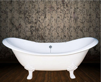 Free Shipping 60 Cast Iron Slipper Clawfoot Tub Not Include Faucet And Drainer W7003