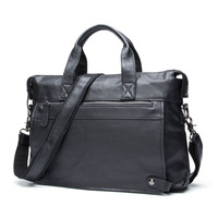 AETOO Business Leather Men 's Bag Leisure Casual Messenger bag Briefcase large real Leather Men' s laptop Bag
