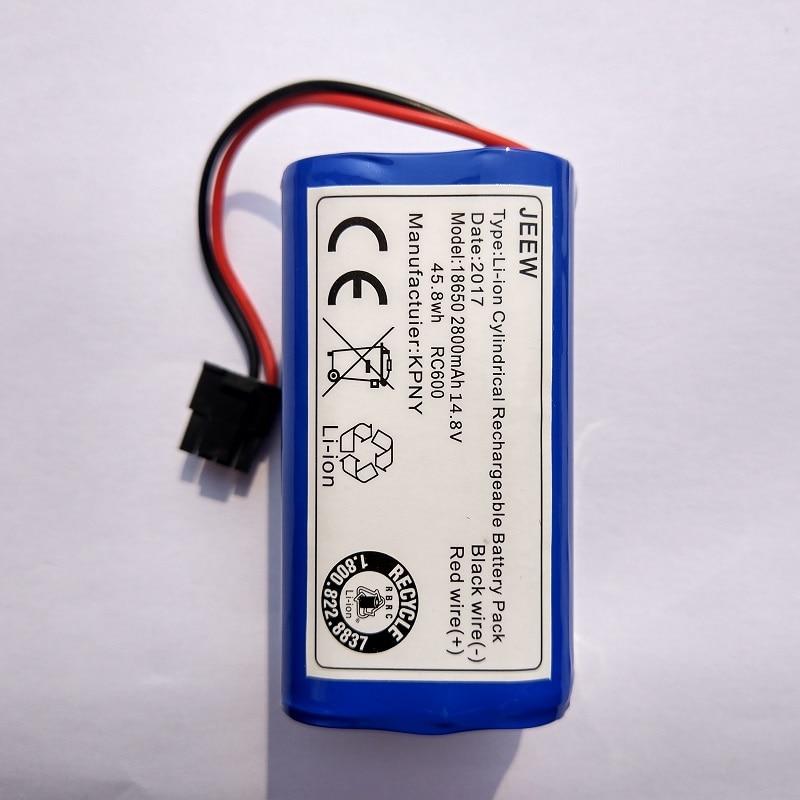 Pour Ecovacs Miroir Aspirateur Propre Robot Batterie CEN540 CEN546 CEN550 CEN640 CEN646 X500 X580 KK8 CR120 CR130 V780 V7 V7S