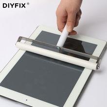 Rolo de silicone ferramenta para telemóvel, tablet, laptop, protetor de tela, filme pastagem, lcd oca, ferramentas de polarização, 6cm 7cm 8cm 10cm 20cm