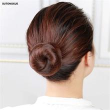 10 יח 'אלסטי ניילון Hairnets שחור בלונדינית לבן צבע שיער בלתי נראה עבור חבילה שיער פאה שווי