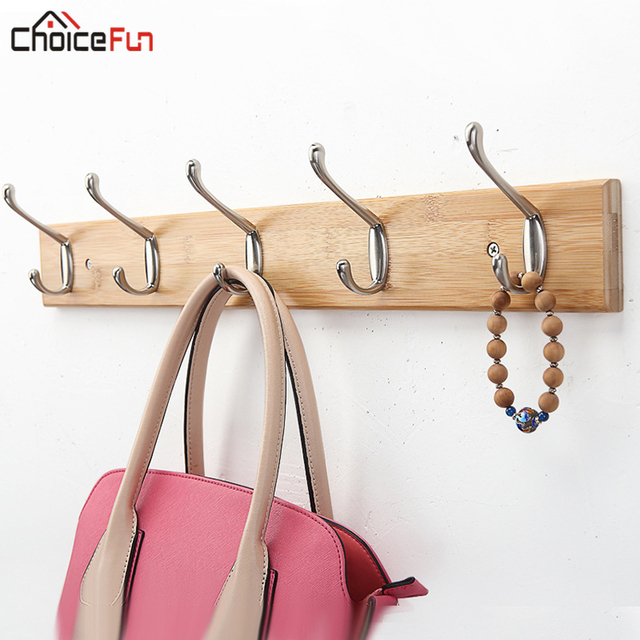 CHOICE FUN Vintage Wood Wooden Wall Mount Clothes Coat Hook Wall-hook Nordic Strong Cat