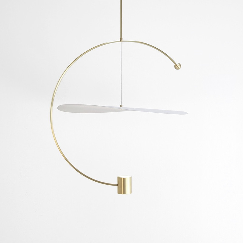 Image 4 - Post modern Minimalist Led Pendant Light Concise Designer Restaurant Dining Room Studio Suspension Light Fixtures Free Shipping-in Pendant Lights from Lights & Lighting