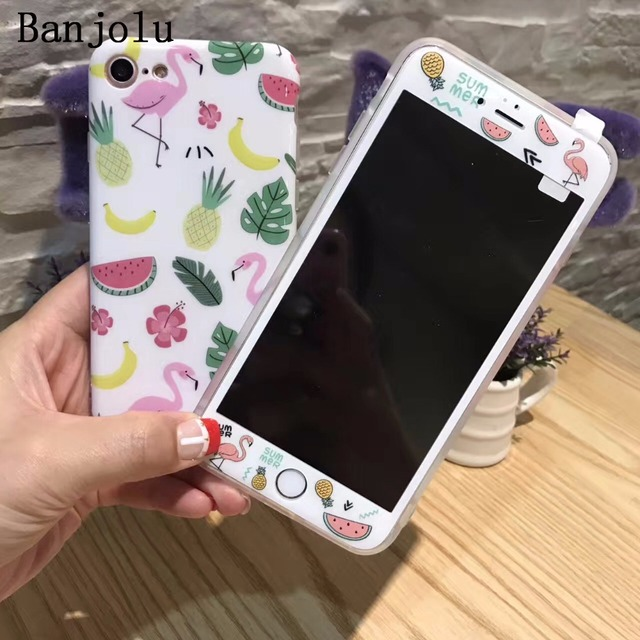 iphone 8 case and glass screen protector