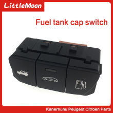 LittleMoon New Fuel Tank Switch Button Backup Luggage Applicable to Peugeot 508 W23