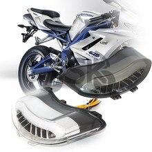 Для Triumph Daytona 675 2005-2010 мотоцикл скорость тройной 2008-2010 интегрированный светодиодный задний фонарь поворотный сигнальный проблесковый огонь лампа