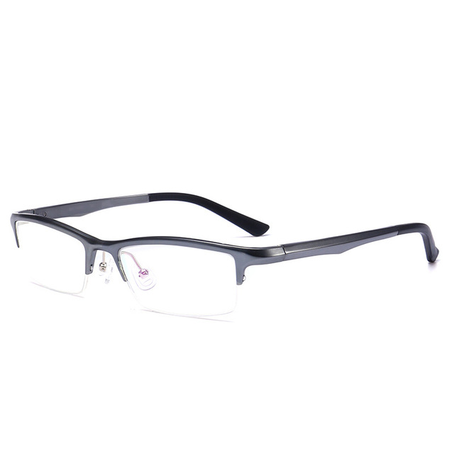 a6885c01f4 Vazrobe Quality Brand Alumium Magnesium Eyeglasses Frame Men Half Rim  Glasses Frames for Man Best Designer
