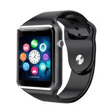 Умные часы Bluetooth наручные часы спортивные Шагомер с сим-камерой Smartwatch для ios android A1 смартфон PK DZ09