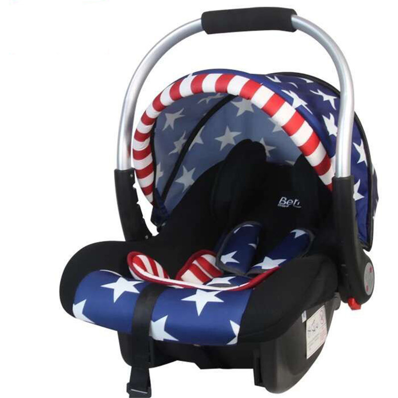 0-12 Month Baby Car Basket Portable Baby Safety Car Seat Infant Auto Chair Seat Infant Baby Protect Seat Chair Basket